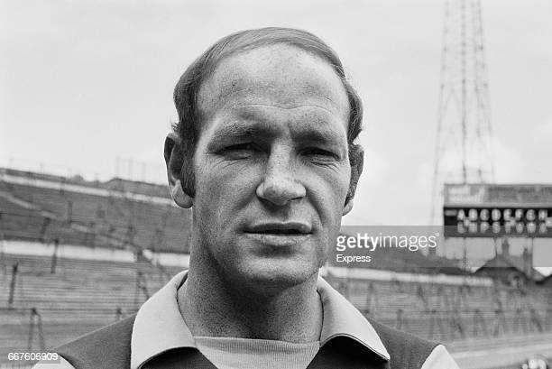 Footballer Andy Lochhead of Aston Villa FC UK 23rd August 1971