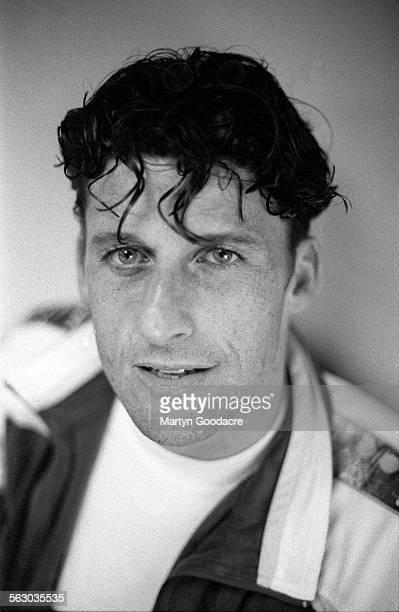 Footballer Andy Townsend, portrait, United Kingdom, 1996.