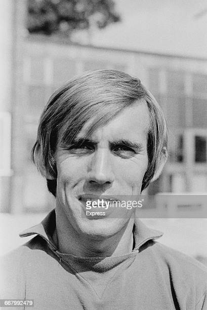 Footballer Bill Glazier of Coventry City FC UK 23rd August 1971
