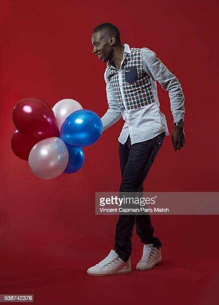Footballer Blaise Matuidi is photographed for Paris Match on May 17 2016 in Paris France