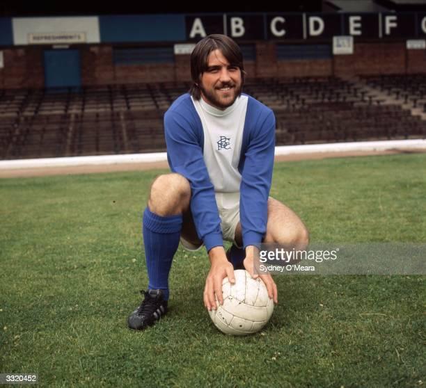 Footballer Bob Latchford of Birmingham City FC