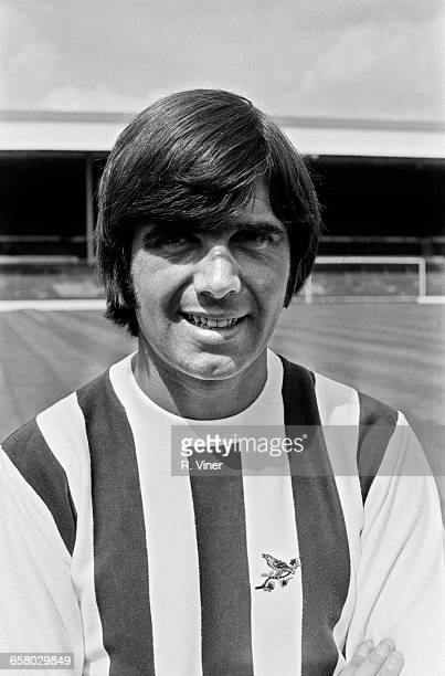 Footballer Bobby Hope of West Bromwich Albion FC UK 20th July 1971