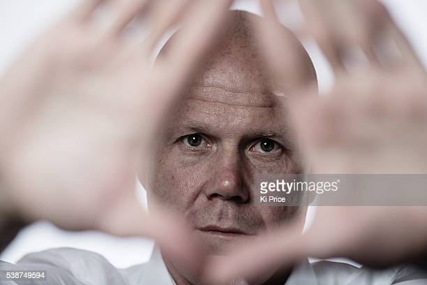 Footballer Brad Friedel is photographed for Goalcom on May 6 2014 in London England