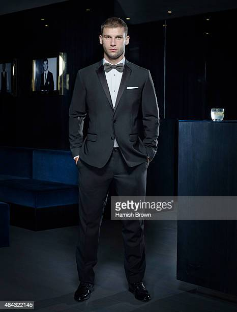 Footballer Branislav Ivanovic is photographed for Men's Health on October 25 2012 in London England