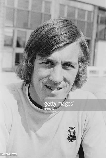 Footballer Brian Alderson of Coventry City FC UK 23rd August 1971