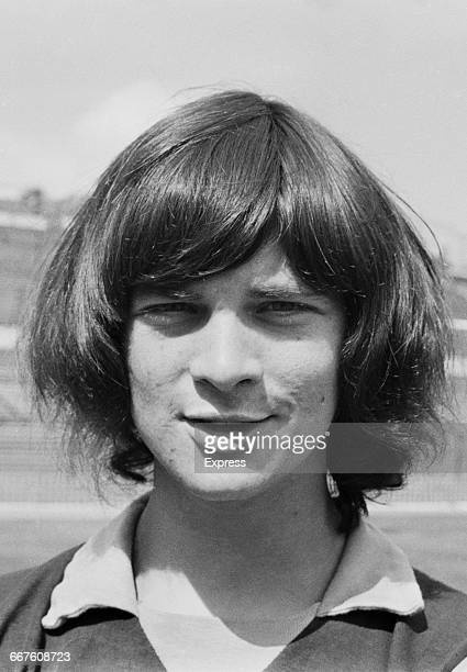Footballer Brian Little of Aston Villa FC UK 23rd August 1971