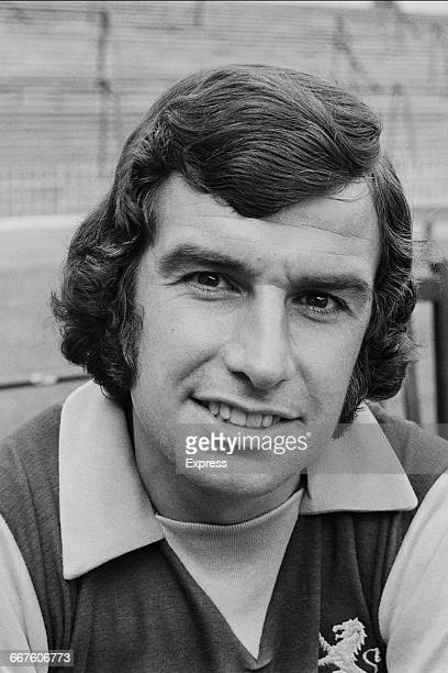 Footballer Brian Tiler of Aston Villa FC UK 23rd August 1971