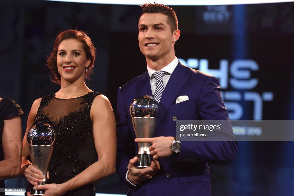 beste Turnschuhe neueste bester Service US footballer Carli Lloyd and Portuguese footballer ...