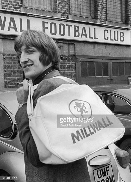 Footballer Chris Kelly of amateur team Leatherhead is newly signed by Millwall Football Club 29th January 1975