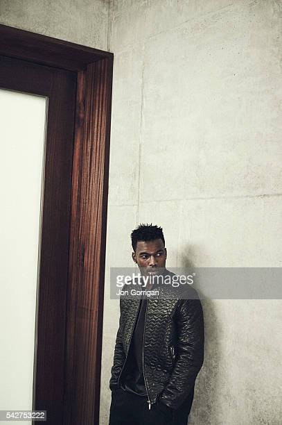 Footballer Daniel Sturridge is photographed for Esquire magazine on August 27 2014 in London England