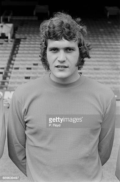 Footballer Dave Shipperley of Charlton Athletic FC UK 3rd August 1971