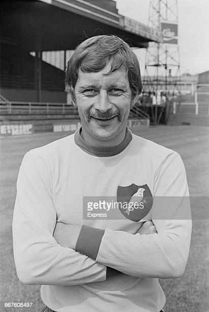 Footballer Dave Stringer of Norwich City FC UK 24th August 1971