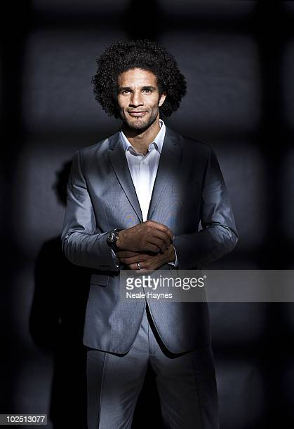 Footballer David James poses for a portrait shoot in London May 12 2010