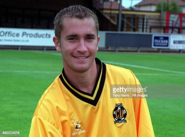 Footballer Dean Armstrong of Cambridge United FC at The Abbey Stadium.