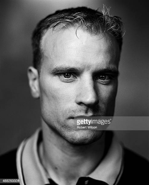 Footballer Dennis Bergkamp is photographed on August 1 2000 in London England