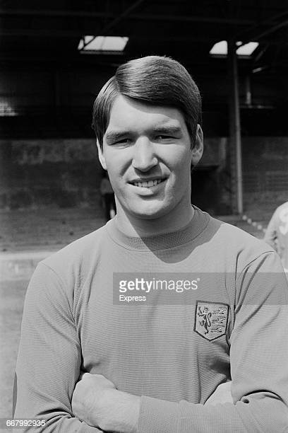 Footballer Derek Jefferson of Ipswich Town FC UK 19th August 1971