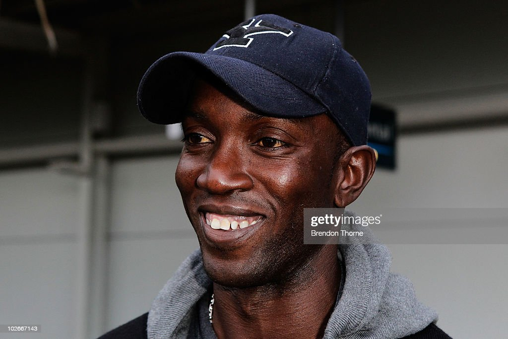Dwight Yorke Arrives Ahead Of Everton Tour Down Under