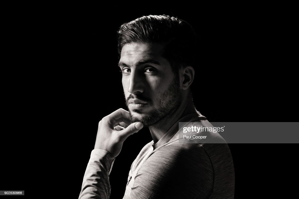 Footballer Emre Can is photographed on August 4, 2017 in Liverpool, England.
