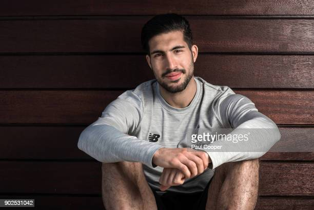 Footballer Emre Can is photographed on August 4 2017 in Liverpool England