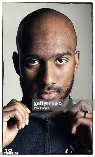 Footballer Fabian Delph is photographed on December 3 2018 in Manchester England