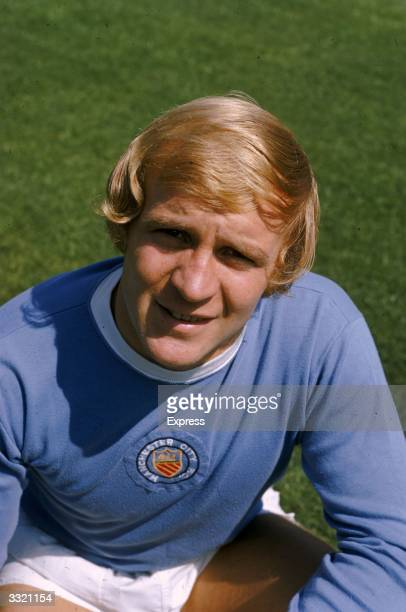 Footballer Francis Lee of Manchester City FC
