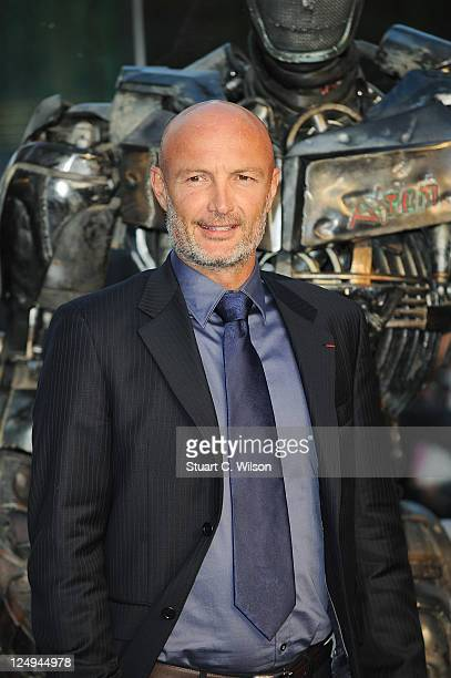 Footballer Franck Leboeuf attends the UK premiere of 'Real Steel' at Empire Leicester Square on September 14 2011 in London England