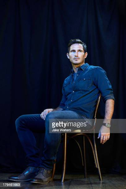 Footballer Frank Lampard is photographed for ES magazine on August 15 2013 in London England