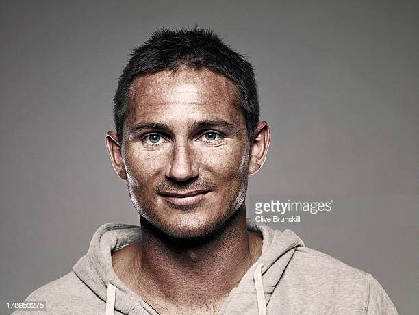 Footballer Frank Lampard is photographed on June 30 2009 in London England