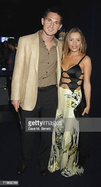 Footballer Frank Lampard with partner Elen Rivas attend the fashion show and party to celebrate the launch of Emporio Armani RED collection at Earls...
