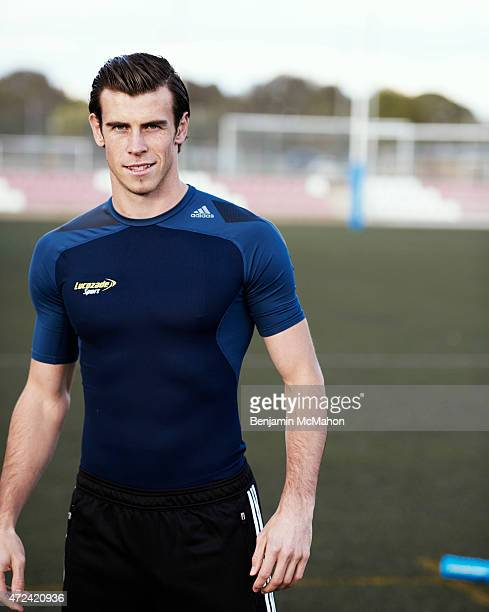 Footballer Gareth Bale is photographed for the Telegraph on November 5 2014 in London England