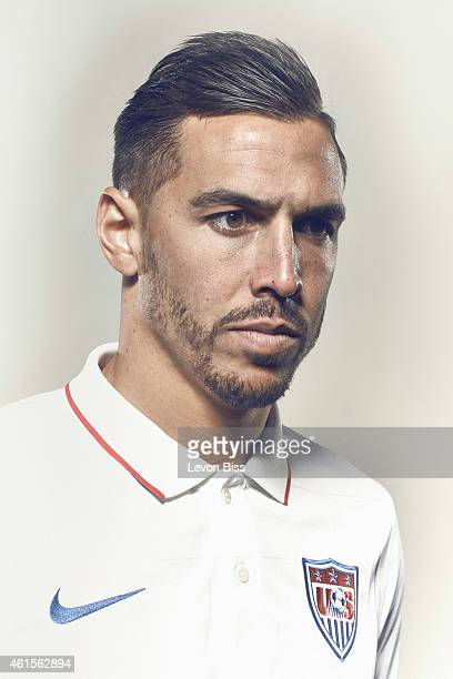 Footballer Geoff Cameron is photographed for Time magazine on March 3 2014 in Frankfurt Germany