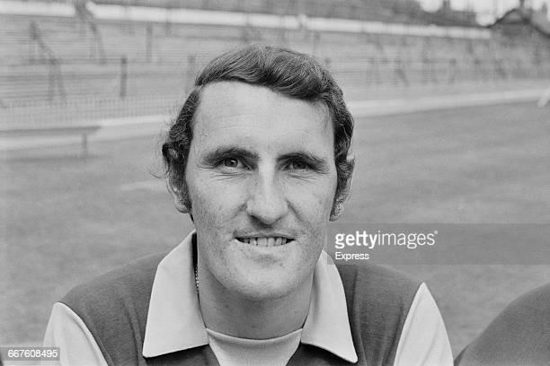 Footballer Geoff Vowden of Aston Villa FC UK 23rd August 1971