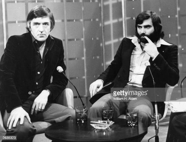 Footballer George Best and Michael Parkinson guest on the Thames Television's 'Today' progamme