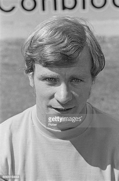 Footballer Graham Atkinson of Oxford United FC UK 22nd July 1971