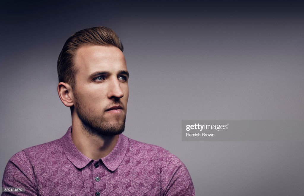 Footballer Harry Kane is photographed for Forever Sport magazine on April 13, 2016 in London, England.