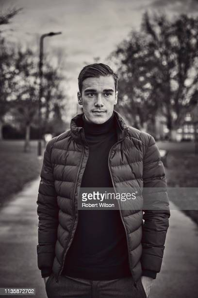 Footballer Harry Winks is photographed 8by8 magazine on January 29 2018 in London England