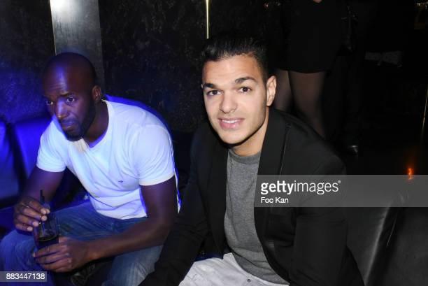 Footballer Hatem Ben Arfa attends 'Les Diamants de L'Orient' Nadia Toure Streetwear Fashion Show at VIP Room Theater Club on November 30 2017 in...
