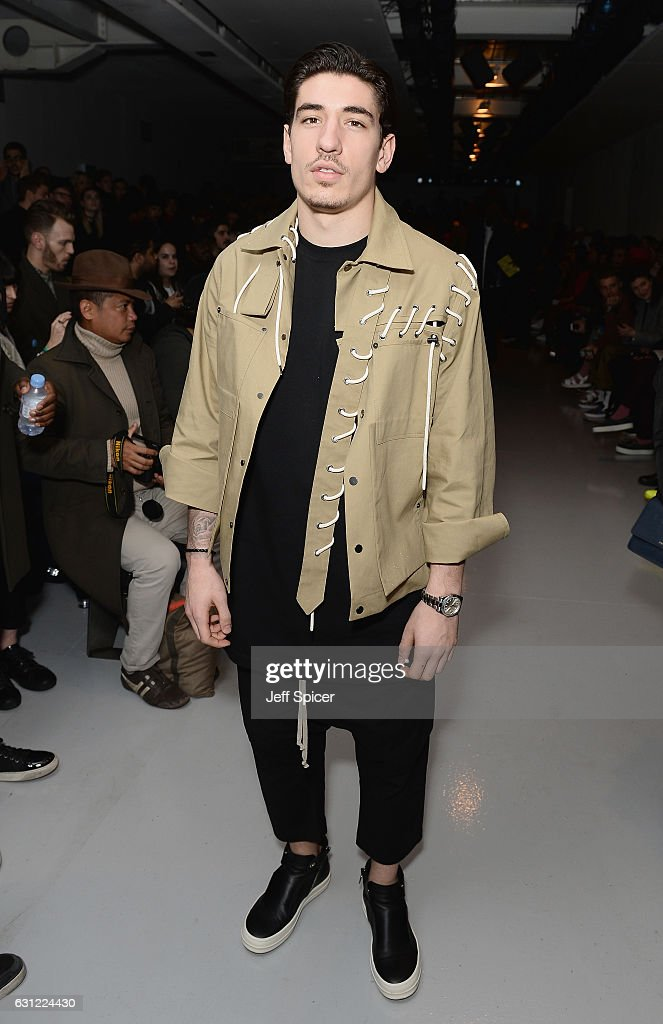 Celebrities & Front Row - Day 3 - LFW Men's January 2017 : News Photo