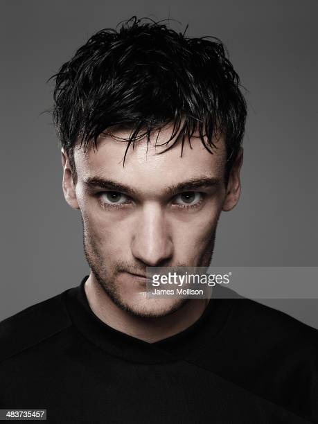 Footballer Hugo Lloris is photographed on April 1 2010 in Paris France