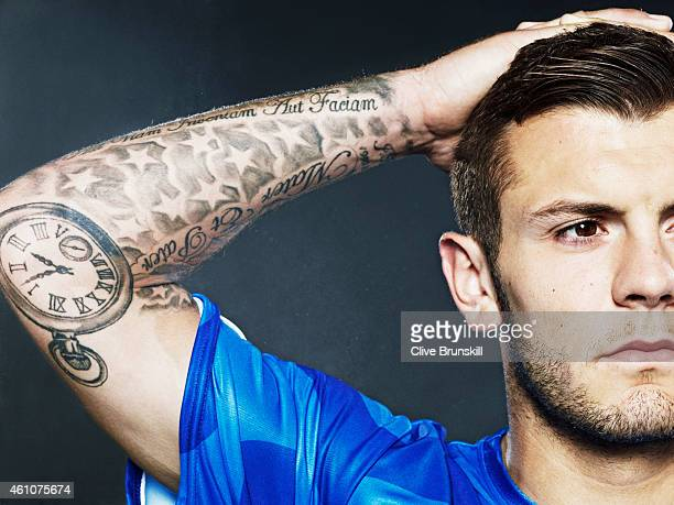 Footballer Jack Wilshere is photographed on August 22 2013 in London England