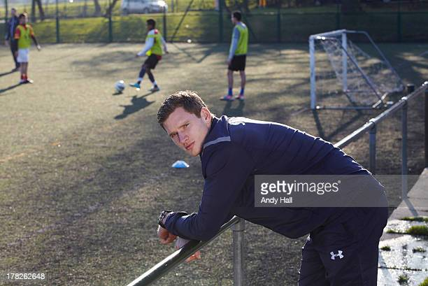 Footballer Jan Vertonghen is photographed on February 22 2013 in London England