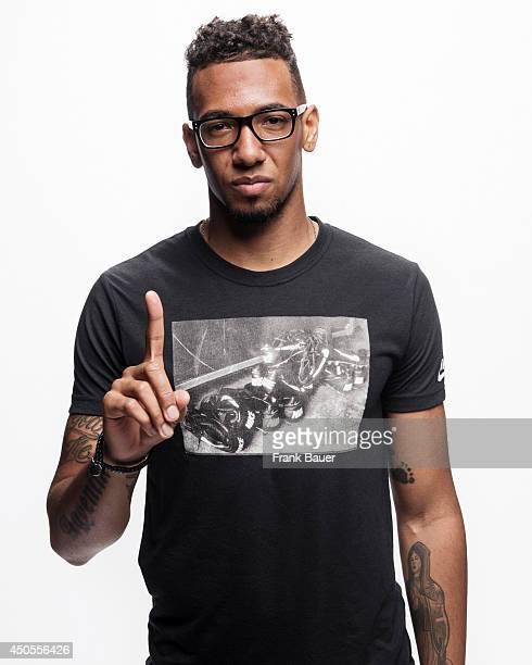 Footballer Jerome Boateng is photographed for Sueddeutsche Zeitung magazine in Munich Germany