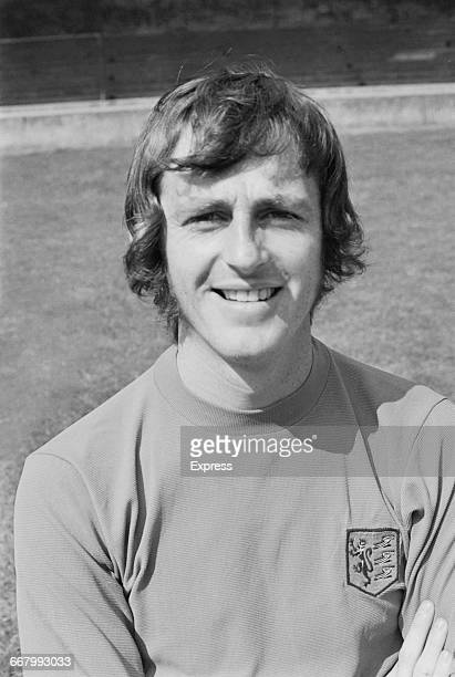 Footballer Jimmy Robertson of Ipswich Town FC UK 19th August 1971