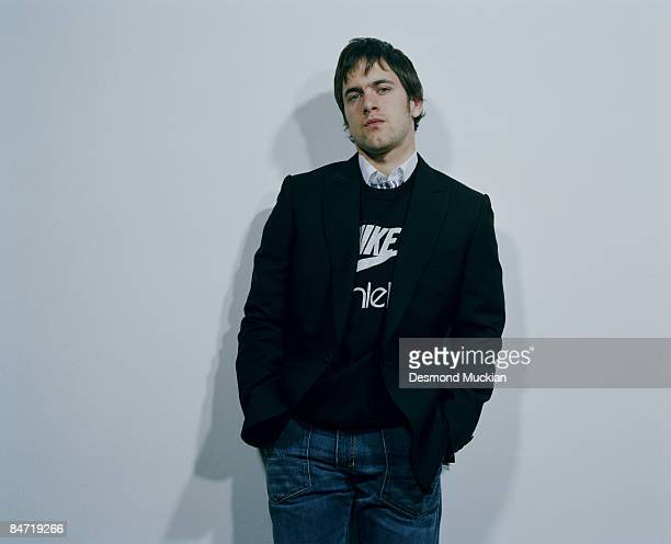 Footballer Joe Cole poses for a portrait shoot for Esquire magazine in London on March 17 2006