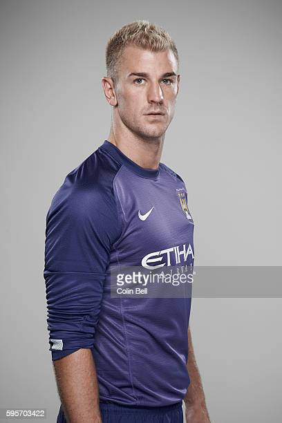Footballer Joe Hart is photographed on August 5 2013 in Manchester England
