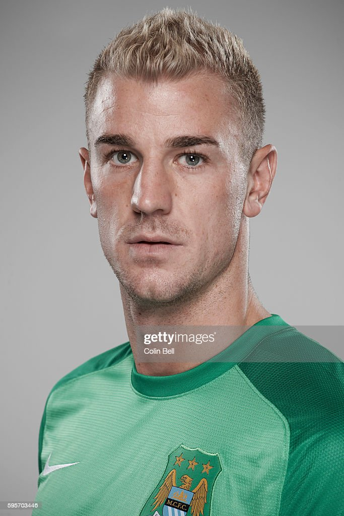Footballer Joe Hart is photographed on August 5, 2013 in Manchester, England.