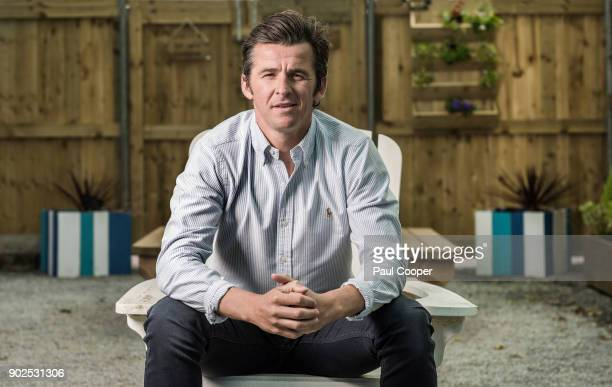 Footballer Joey Barton is photographed for the Sunday Times on June 15 2017 in Manchester England