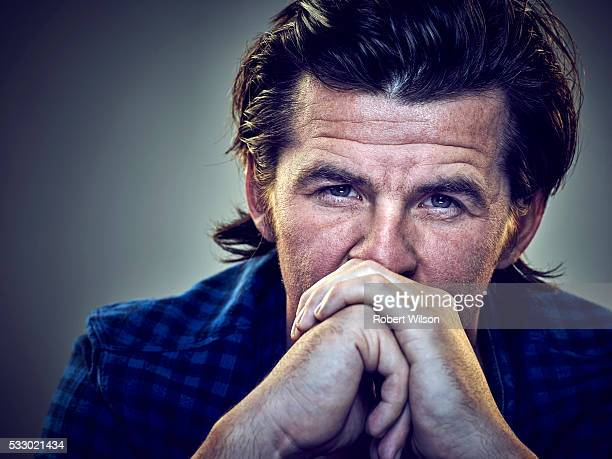 Footballer Joey Barton is photographed for the Times on July 23 2015 in London England
