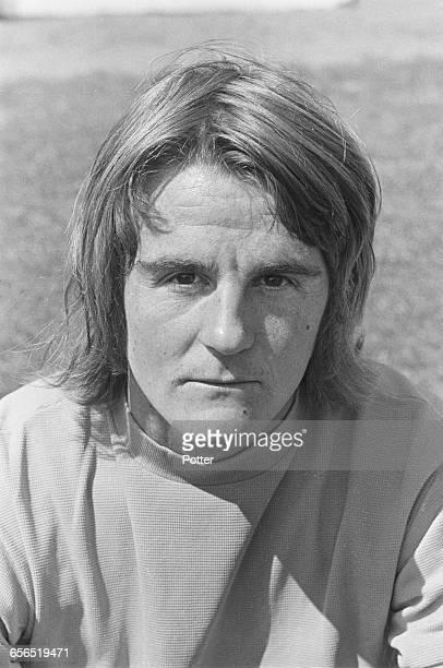 Footballer John Evanson of Oxford United FC UK 22nd July 1971