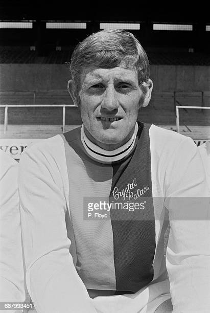 Footballer John McCormick of Crystal Palace FC UK 25th August 1971